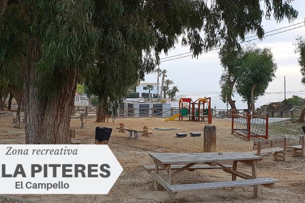 Área recreativa Cala Piteres en El Campello