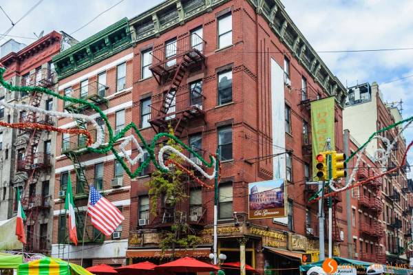 Barrios de Nueva York - Chinatown y Little Italy