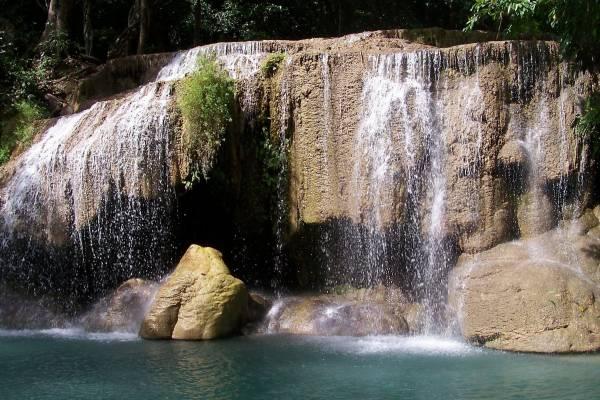 Cascadas de Erawan, naturaleza pura en Tailandia