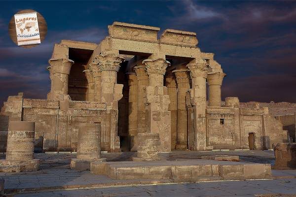 Templo de Kom Ombo dedicado a Sobek y Horus