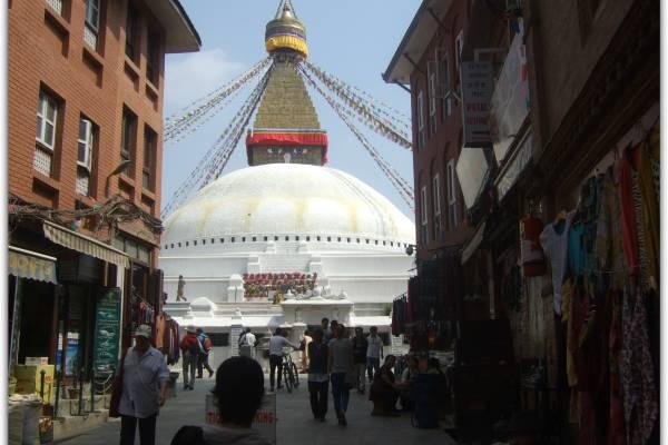 La Estupa de Boudhanath, lugar mágico de Kathmandú