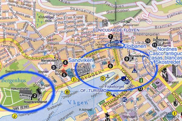 Bergen la ciudad entre siete montañas