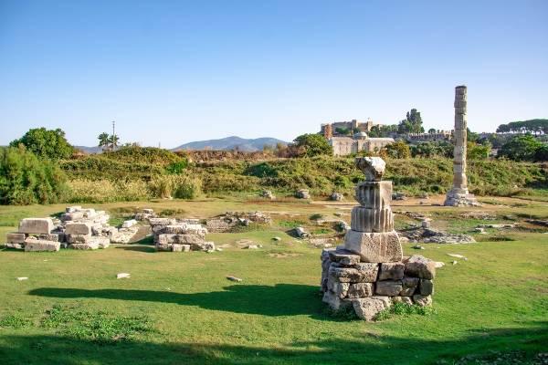 La casa de la Virgen María y el Templo de Artemisa