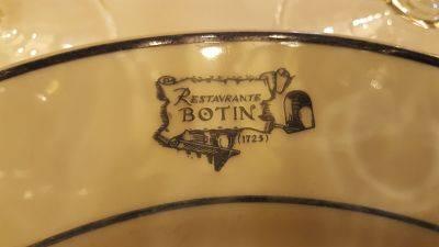 El Restaurante más antiguo está en Madrid !!