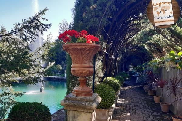 Penáguila y el Jardín de los Santos