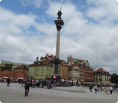 Lugar de vista en Varsovia: museo de Marie Curie